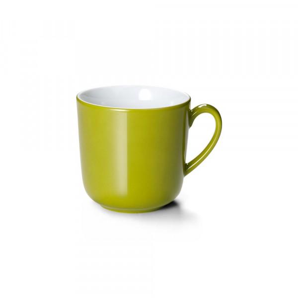 Dibbern Solid Color oliv Becher mit Henkel 0,32 l