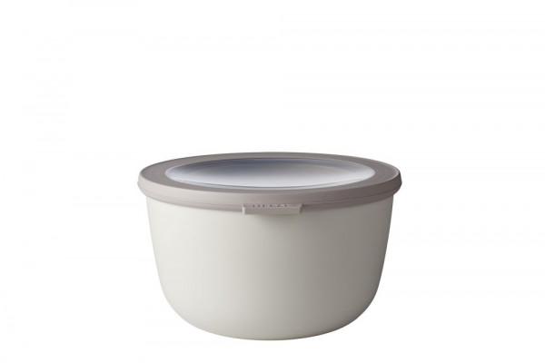 Mepal Cirqula Multi Bowl Vorratsdose mit Deckel 2000 ml nordic white