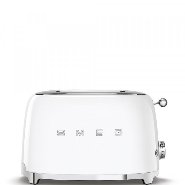 Smeg Retro Toaster 2-Schlitz weiß