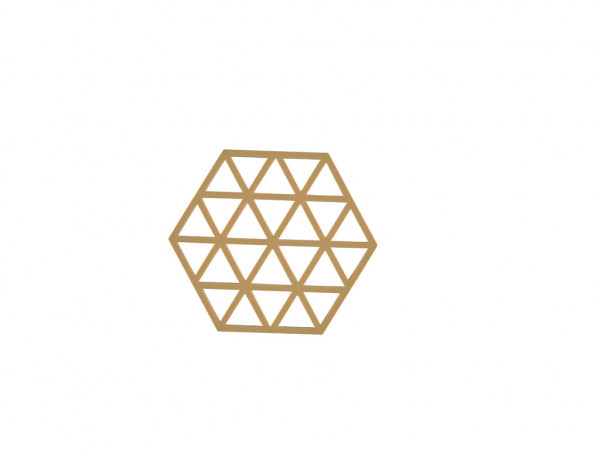 Zone Denmark Topf-Untersetzer Silikon Triangles Khaki