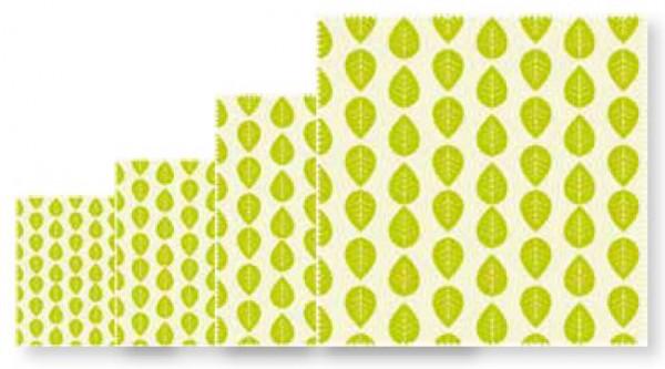 Nuts Innovations Veggie Wachstücher Tücher 4er-Set
