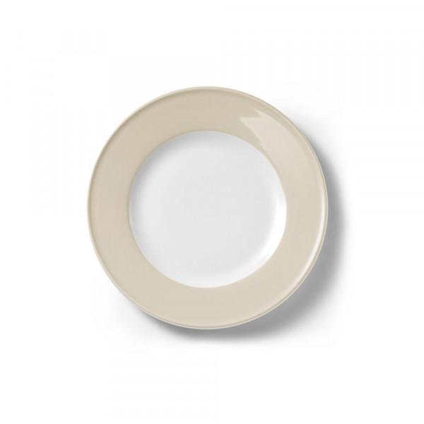 Dibbern Solid Color Sand Teller flach 21 cm Fahne