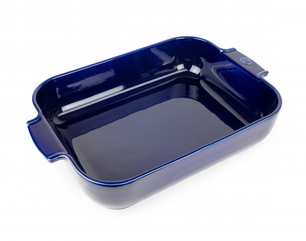 Peugeot Appolia Auflaufform rechteckig 40 cm blau