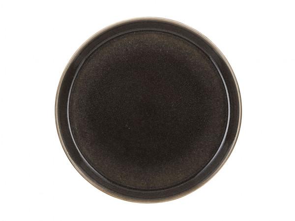 Bitz Speiseteller grau / grau 27 cm