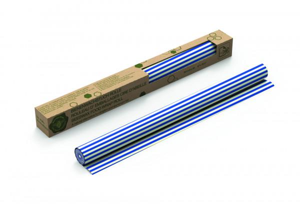 Nuts Innovations Bees Wax Rolle Streifen blau