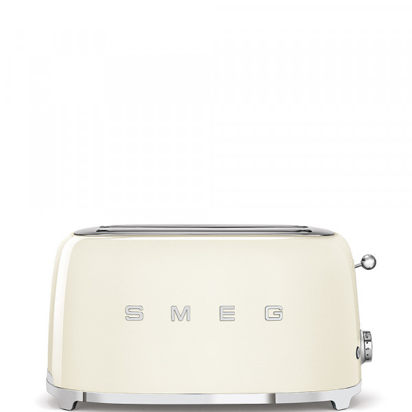 Smeg Retro Toaster 2-Schlitz lang creme