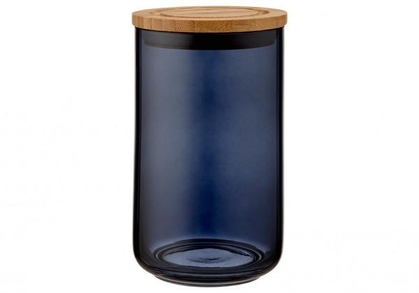 Ladelle Stak Glas Vorratsdose 17 cm mitternacht