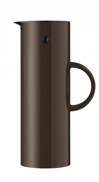 Stelton EM77 Isolierkanne 1,0 l dark mocha