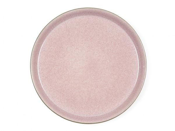 Bitz Speiseteller grau / rosa 27 cm