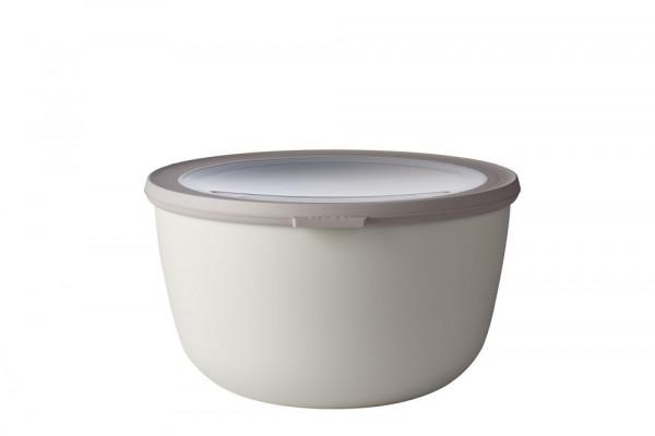 Mepal Cirqula Multi Bowl Vorratsdose mit Deckel 3000 ml nordic white