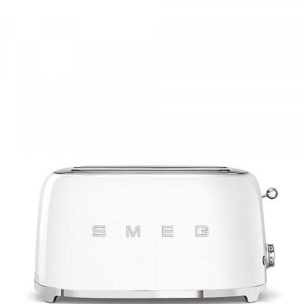 Smeg Retro Toaster 2-Schlitz lang weiß