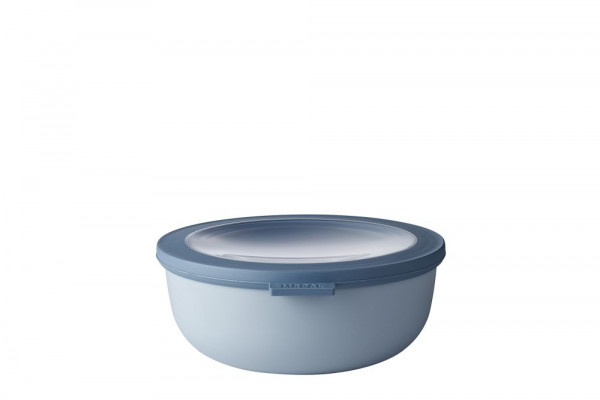 Mepal Cirqula Multi Bowl Vorratsdose mit Deckel 1250 ml nordic blue