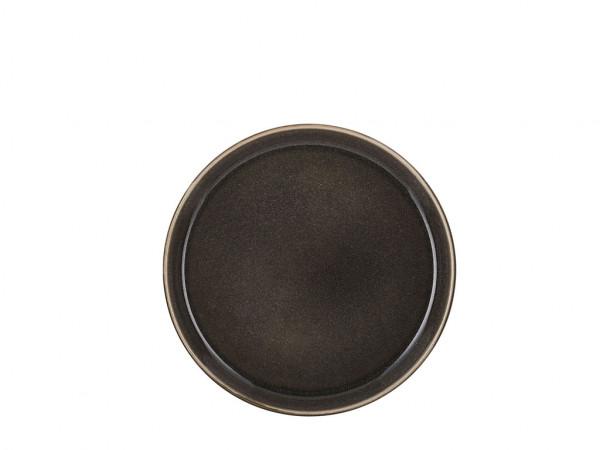 Bitz Frühstücksteller grau / grau 21 cm