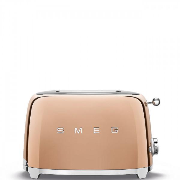 Smeg Retro Toaster 2-Schlitz rosegold