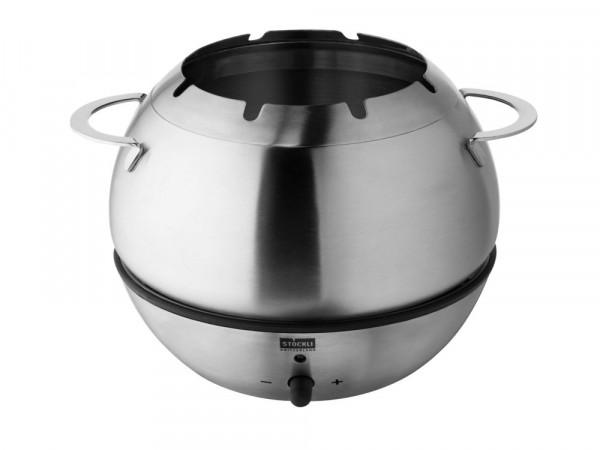 Stöckli Hot Bowl Fondue-Garnitur elektrisch