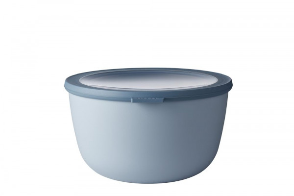 Mepal Cirqula Multi Bowl Vorratsdose mit Deckel 3000 ml nordic blue