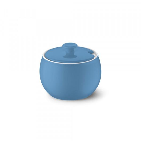 Dibbern Solid Color vintage blue Zuckerdose 0,30 l