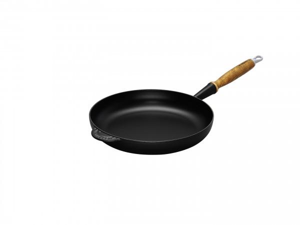 Le Creuset Gusseisen Bratpfanne 26 cm schwarz