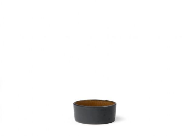 Bitz Mini-Schüssel schwarz / bernstein 7,5 cm