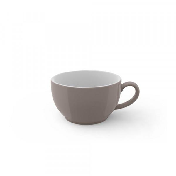 Dibbern Solid Color kiesel Kaffee Obertasse 0,25 l