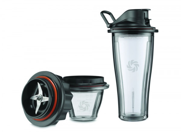 Vitamix Starter Kit 1 Klingenaufsatz 1 Mix&Go-Behälter 600 ml / 1 Behälter 225 ml