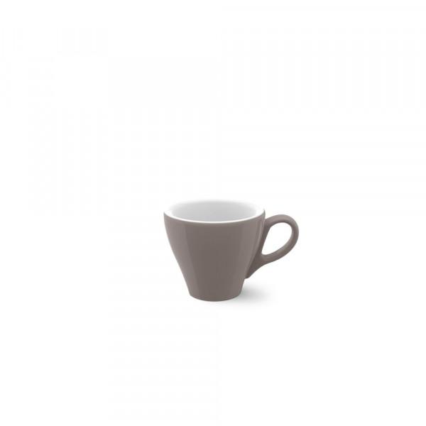 Dibbern Solid Color kiesel Espresso Obertasse Classico 0,09 l