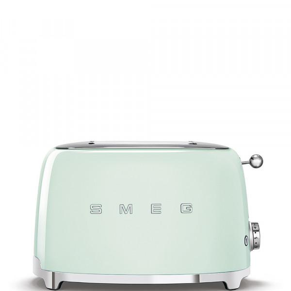 Smeg Retro Toaster 2-Schlitz pastellgrün