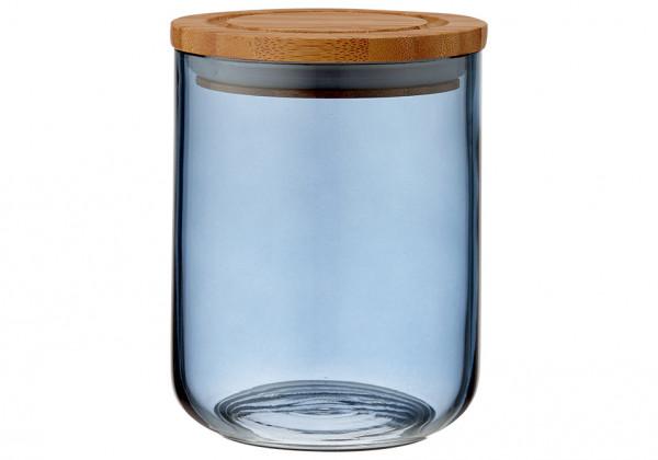 Ladelle Stak Glas Vorratsdose 13 cm dämmerblau