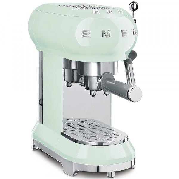 Smeg Retro Espressomaschine pastellgrün