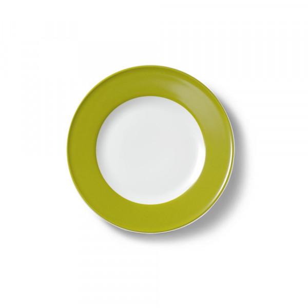 Dibbern Solid Color oliv Teller flach 19 cm Fahne