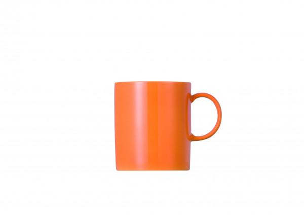 Thomas Sunny Day Orange Becher mit Henkel