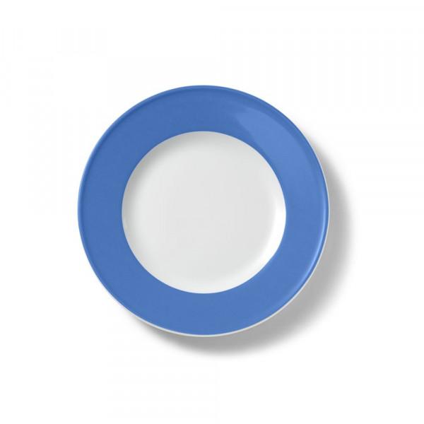 Dibbern Solid Color lavendel blau Teller flach 21 cm Fahne