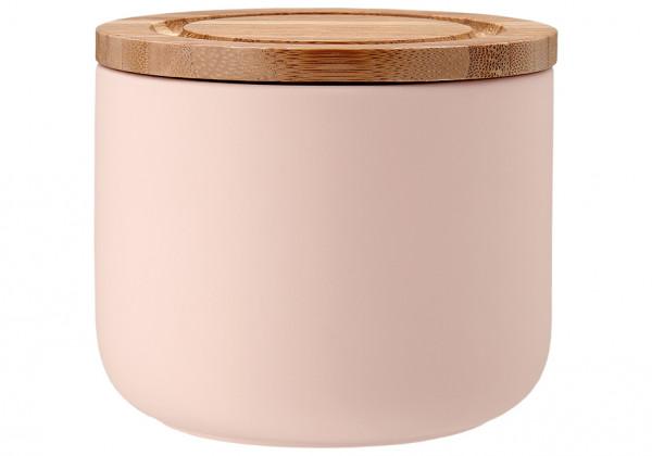 Ladelle Stak Soft Mattiert Vorratsdose 9 cm pink
