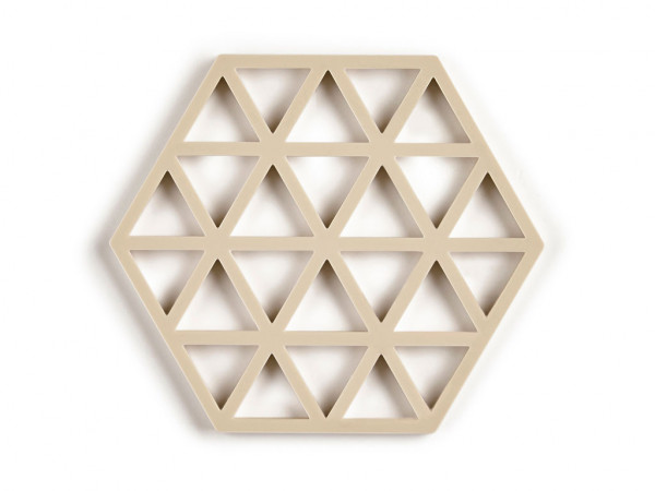 Zone Denmark Triangles Topf-Untersetzer Silikon birch